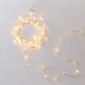 Fall decor idea stringlights