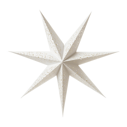 Paper stars as holiday decorations for the home