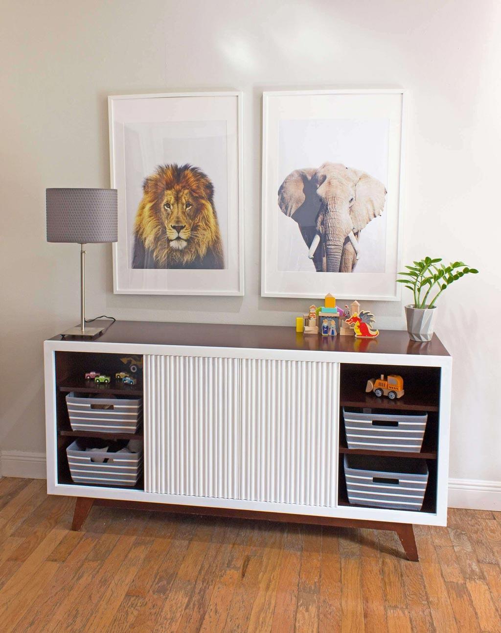 using art and interior design for children's bedroom