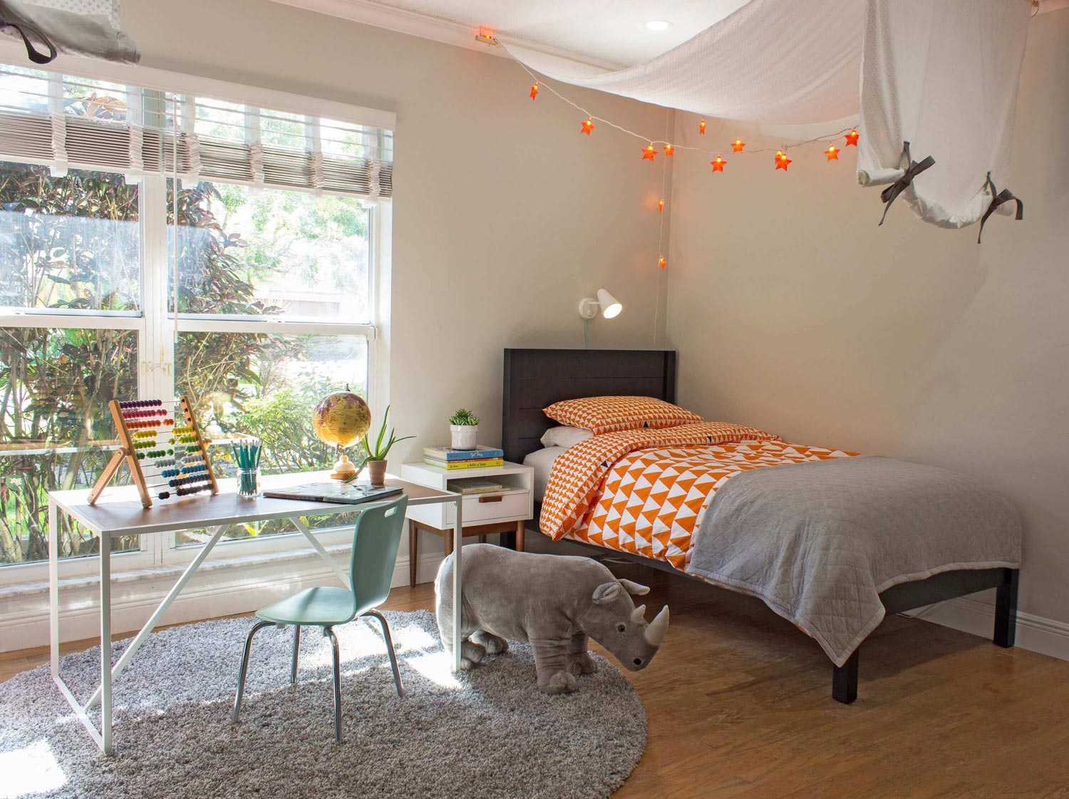 Design Reveal: Boy's Bedroom with Safari Inspiration