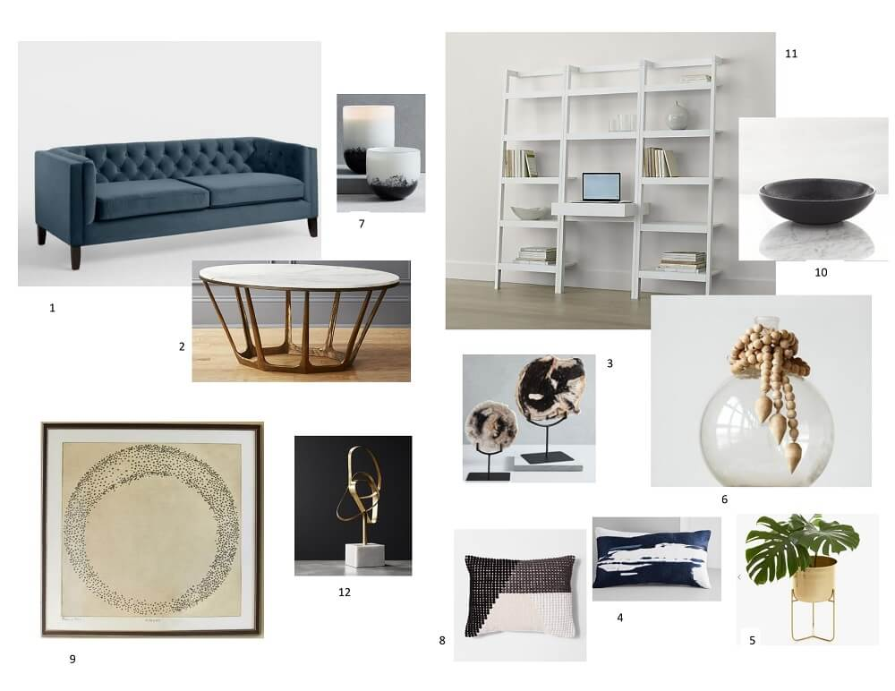 A Polished Living Room Design: Part 3 – Shop the Look!