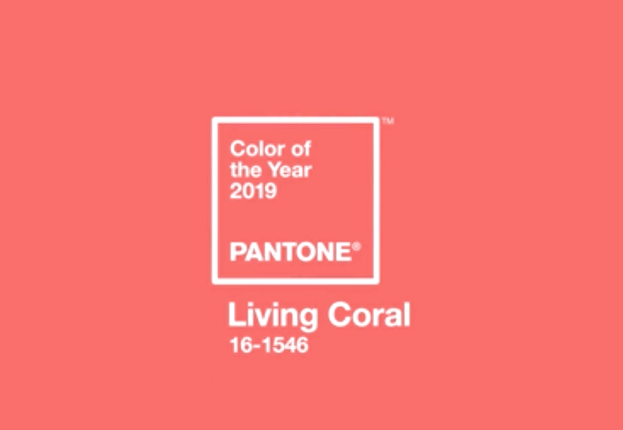 Living Coral - Pantone Color of the Year 2019