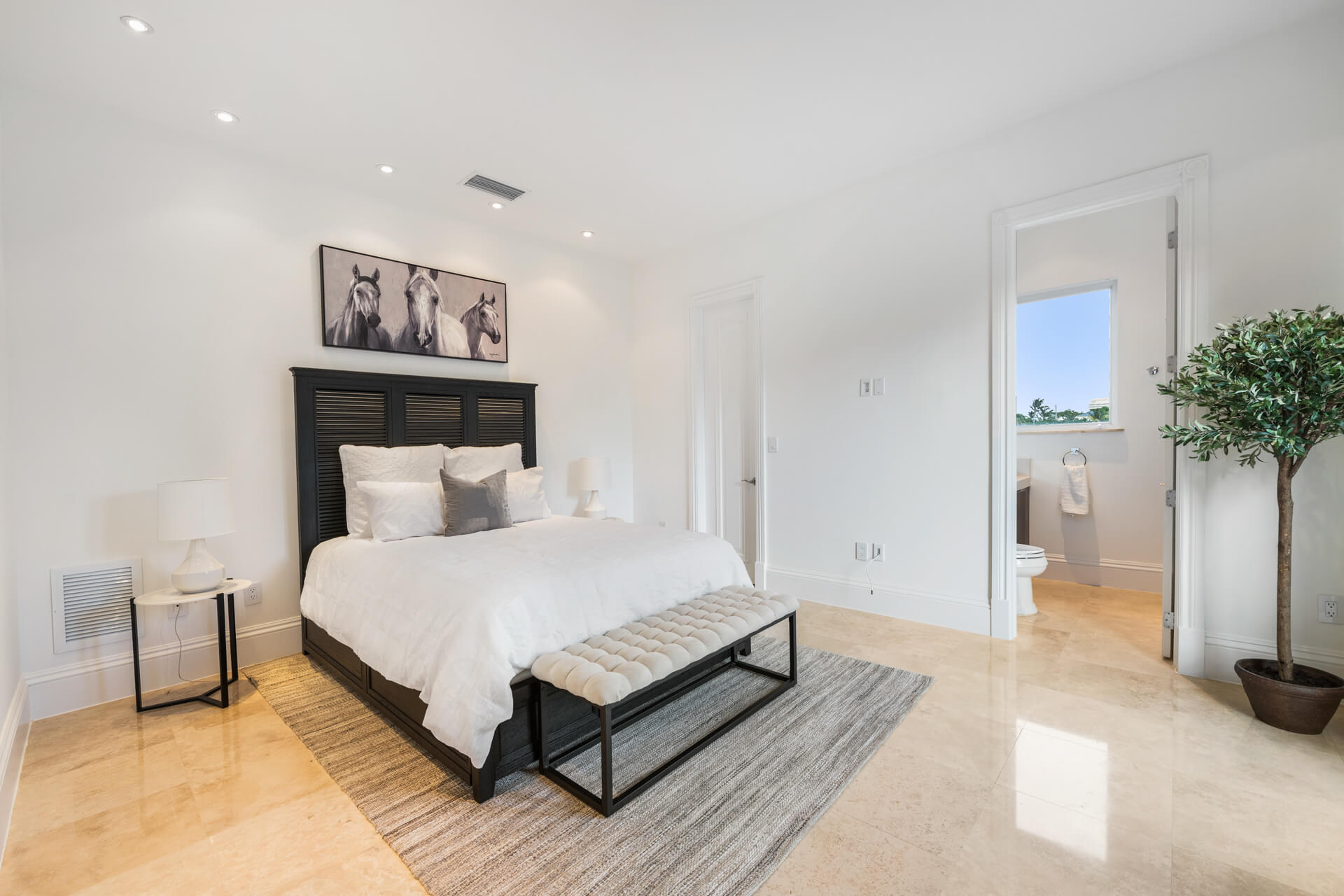 South Florida Home Staging - Guest Bedroom