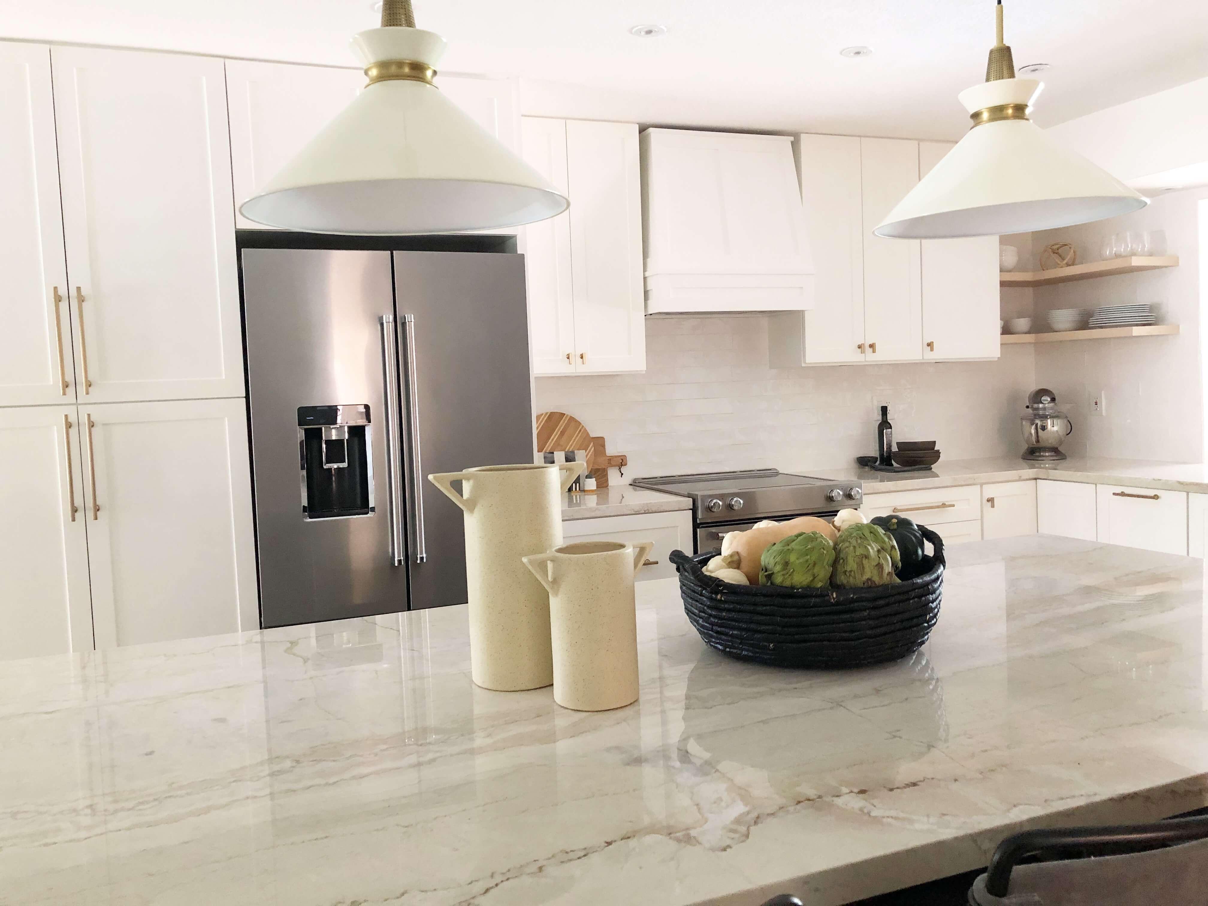 White Kitchen Renovation - Interior Design Companies in Fort Lauderdale