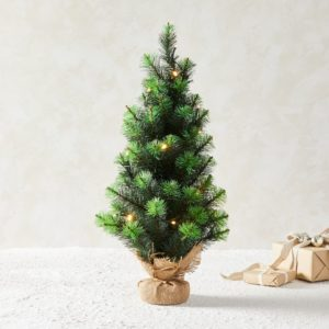 Small Christmas tree for holiday decor