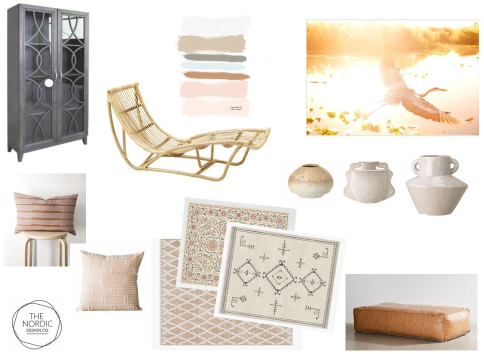 Mood Board for E-Design Consult - The Nordic Design Company