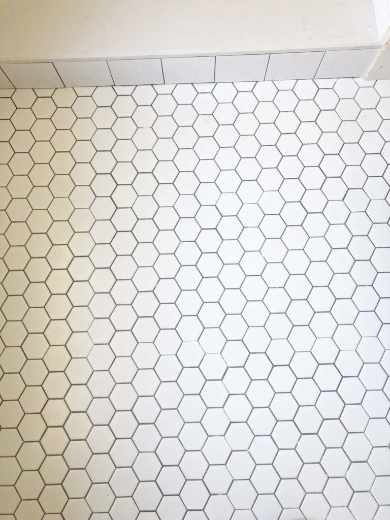 florida bathroom retile project