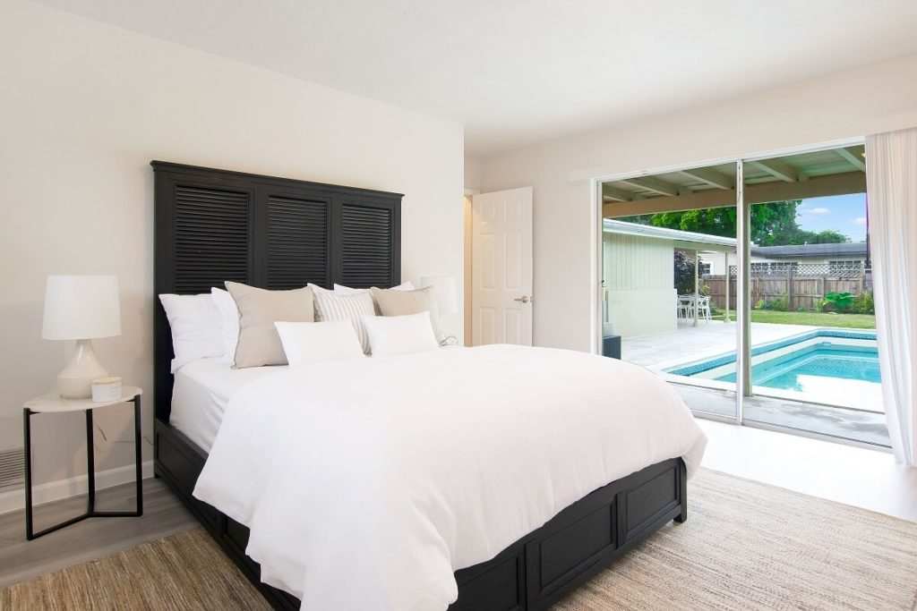Stage Master Bedroom - Fort Lauderdale Miami Home Staging Services