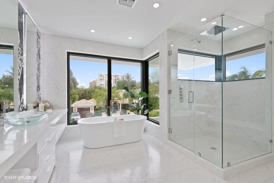 South Florida Home Staging Bathroom