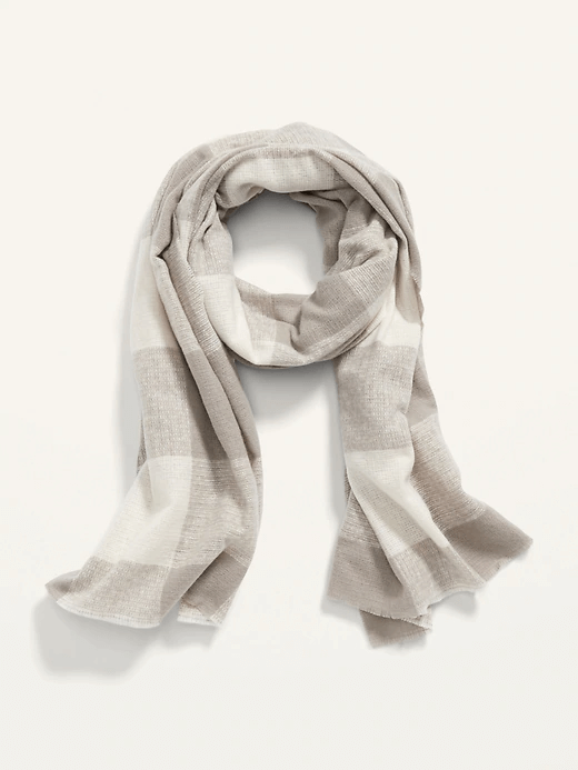 TNDC Holiday Gift Guide - Flannel Scarf for Women
