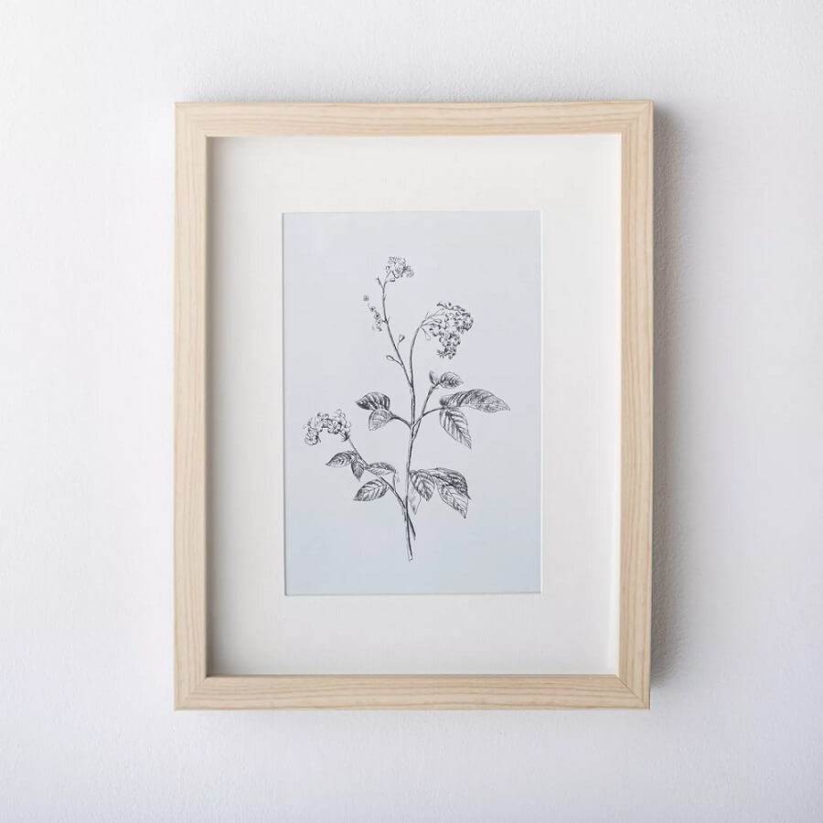 TNDC Holiday Gift Guide - Floral Framed Art