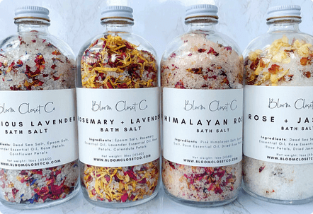 TNDC Holiday Gift Guide - Himalayan Bath Salt - Bath Soak