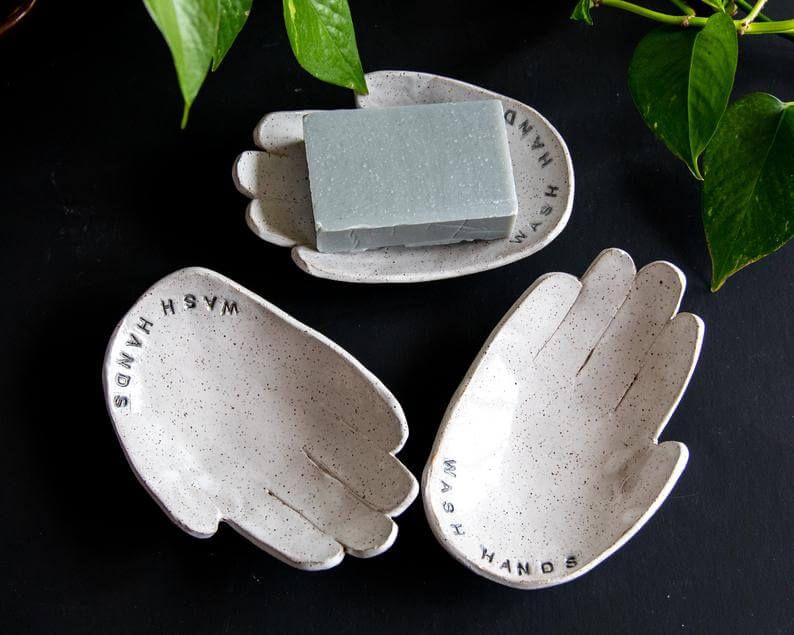 TNDC Holiday Gift Guide - Soap Dish - Wash Hands Reminder