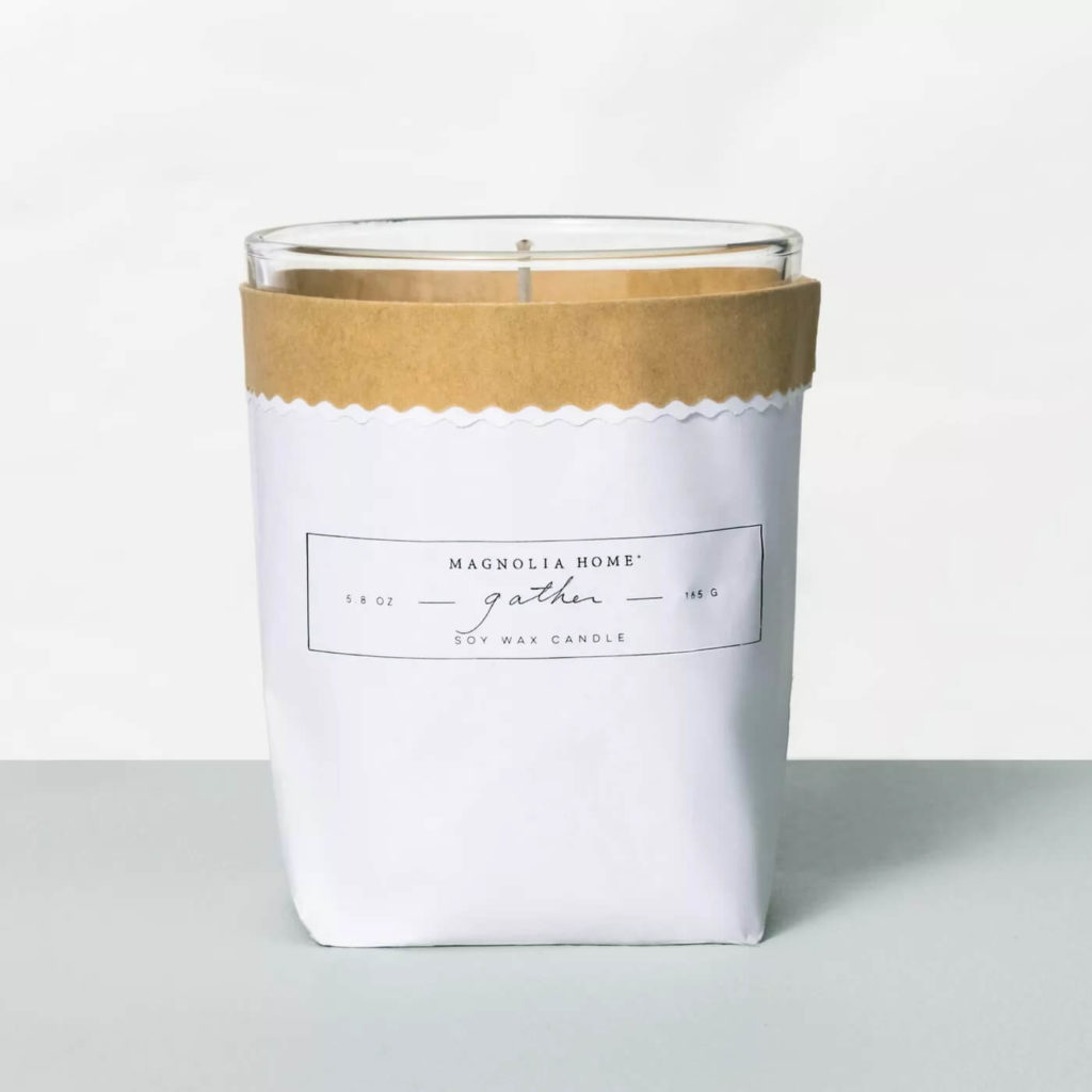 TNDC Holiday Gift Guide - Soy Wax Candle - Magnolia Home