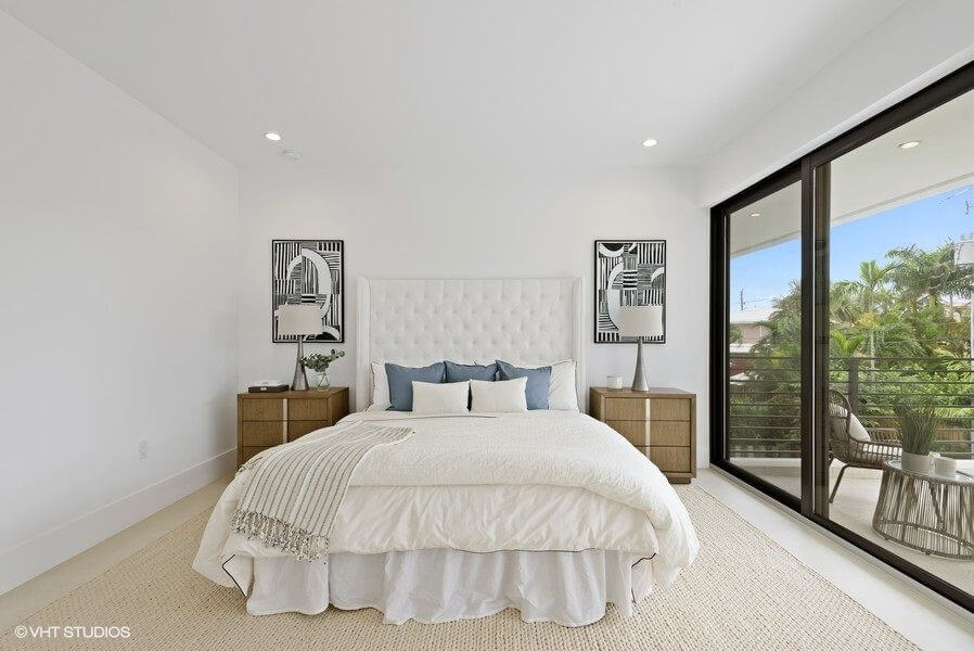 fort Lauderdale beach house staging