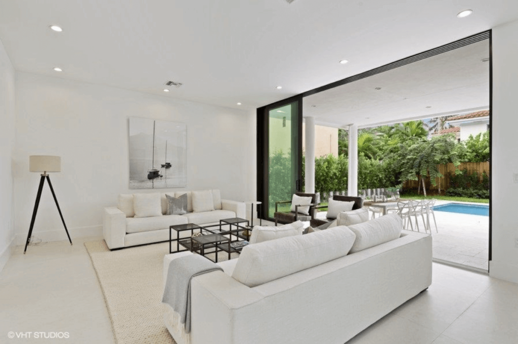 How to Stage Living Spaces - Living Room Staging South Florida