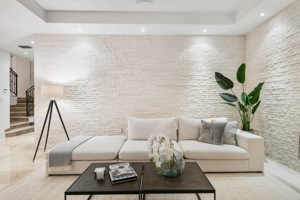 Miami Real Estate Staging Services - Living Room