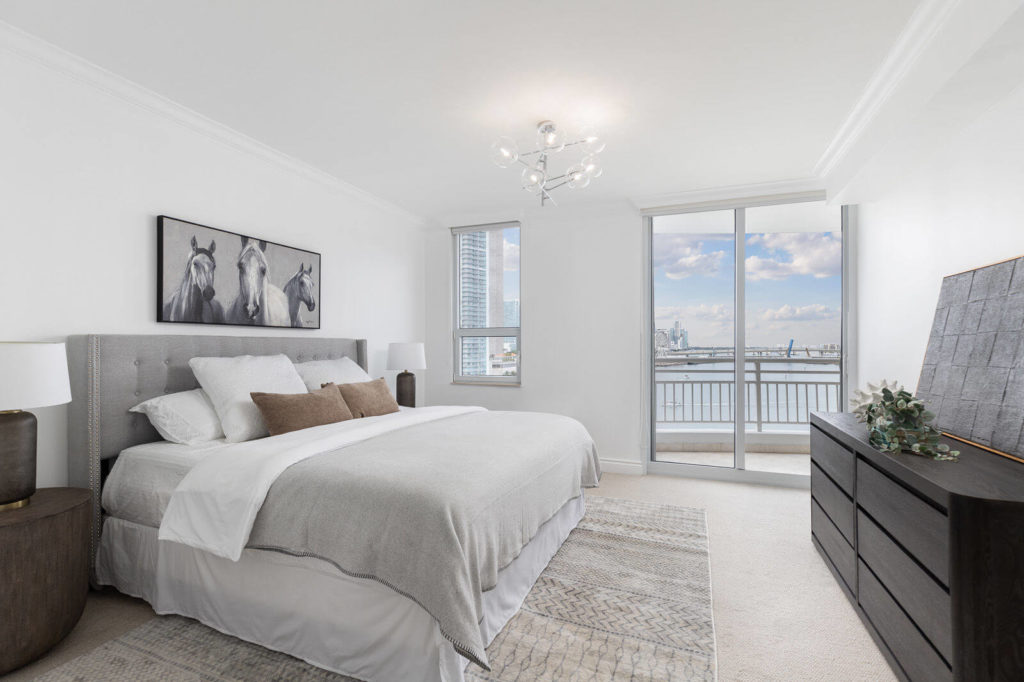 bedroom staging - home staging services South Florida
